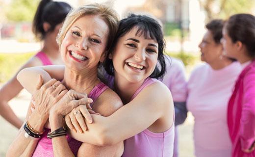 Beratung und Produkte für Brustkrebspatienten